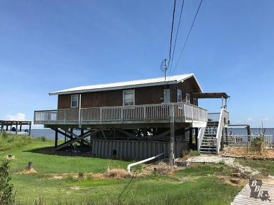 Grand Isle, Fourchon Single Family Home For Sale: 495 Ao Rappelet Road