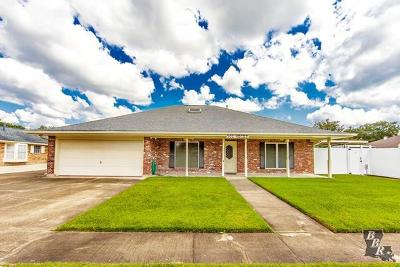 Houma Single Family Home For Sale: 502 Galveston Drive