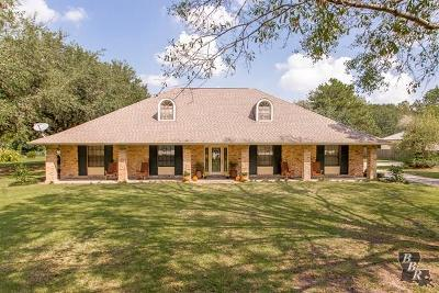 Thibodaux Single Family Home For Sale: 1806 Bayou Road