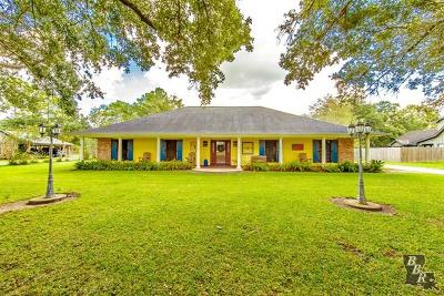 Terrebonne Parish, Lafourche Parish Single Family Home For Sale: 4339 Highway 311