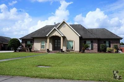 Thibodaux Single Family Home For Sale: 200 Meadow View Court