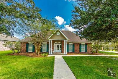 Houma Single Family Home For Sale: 151 Lake Decade Court