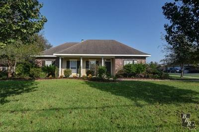 Thibodaux Single Family Home For Sale: 129 Blossom Court