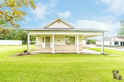 Houma Single Family Home For Sale: 843 Bayou Dularge Road