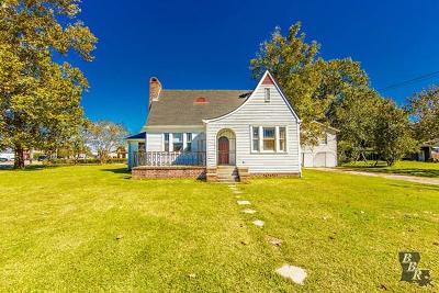 Houma Single Family Home For Sale: 203 Crescent Boulevard