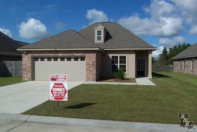 Thibodaux Single Family Home For Sale: 167 Laverne Drive