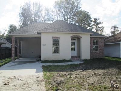 Houma Single Family Home For Sale: 434 Tanglewood Drive
