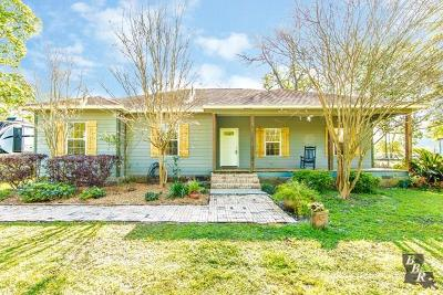 Thibodaux Single Family Home Under Contract: 152 Chisholm Trail
