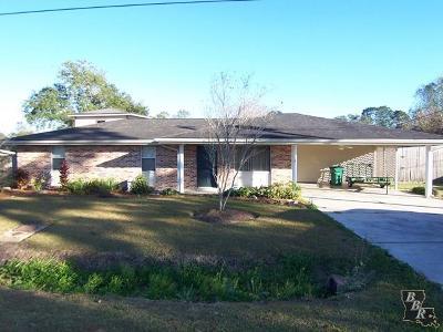 Thibodaux Single Family Home Under Contract: 311 Park Drive