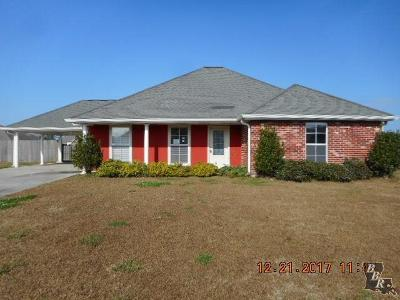 Thibodaux Single Family Home Under Contract: 506 Brandywine Boulevard