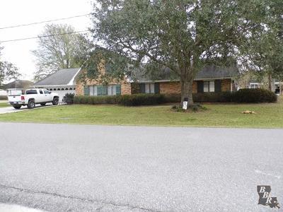 Larose Single Family Home For Sale: 172 Gemini Street