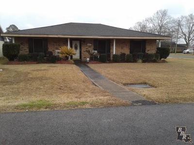 Thibodaux Single Family Home For Sale: 1227 Park Drive