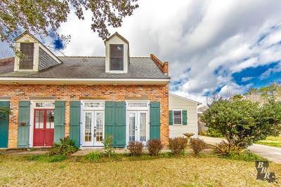 Thibodaux Single Family Home For Sale: 504B Parkside Drive