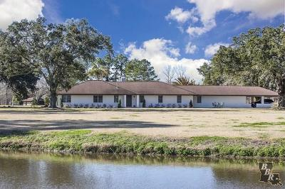 Houma Single Family Home Predicated: 554 Bayou Dularge Road