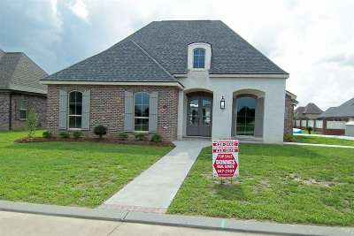 Thibodaux Single Family Home For Sale: 188 Waterford