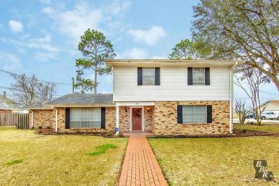 Thibodaux Single Family Home For Sale: 301 Fairfield Drive