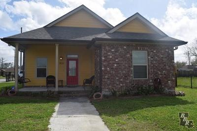Houma Single Family Home For Sale: 1826 Verna Street