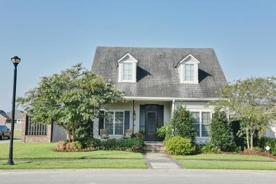 Thibodaux Single Family Home For Sale: 124 Rue Pellitier