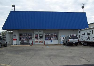 Terrebonne Parish, Lafourche Parish Commercial For Sale: 410 Grand Caillou Road