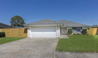 Houma Single Family Home For Sale: 603 Gaynell Drive