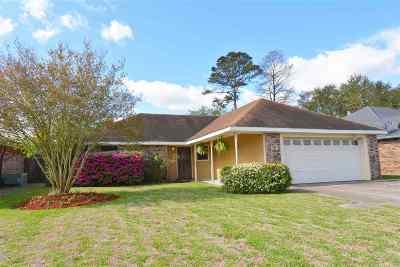 Houma Single Family Home For Sale: 206 Angelle Drive