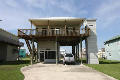 Grand Isle, Fourchon Single Family Home For Sale: 112 Marlin Drive