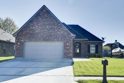 Thibodaux Single Family Home Under Contract: 204 Abby Lake Drive
