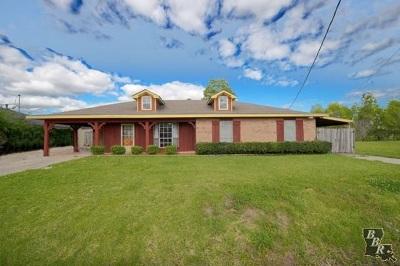 Thibodaux Single Family Home For Sale: 218 Bayou Vista Drive