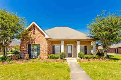 Thibodaux Single Family Home For Sale: 139 Ashton Drive