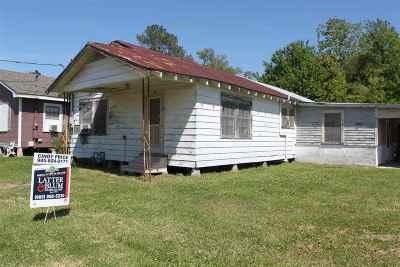 Houma Single Family Home For Sale: 123 Jackson Street