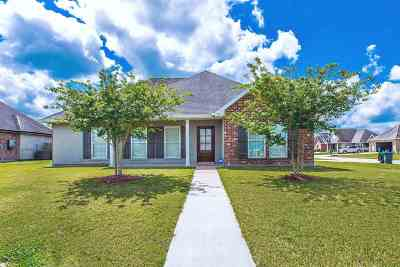 Thibodaux Single Family Home Under Contract: 202 Kettle Drive
