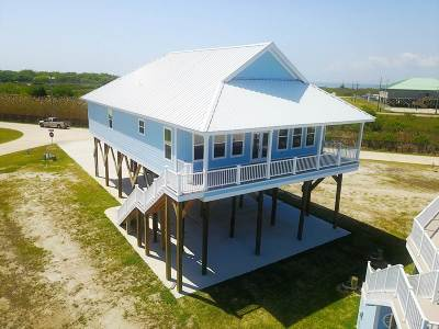 Grand Isle, Fourchon Single Family Home For Sale: 45 Queen Bess