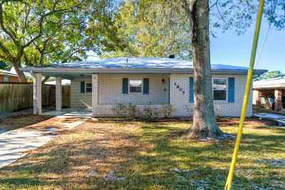 Morgan City Single Family Home For Sale: 1805 Maple Street