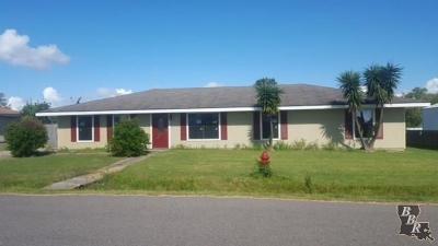 Larose Single Family Home Under Contract: 219 E 25th Street