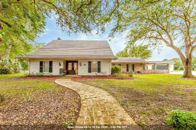Houma Single Family Home For Sale: 105 Belle Helene Drive