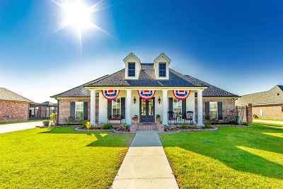 Terrebonne Parish, Lafourche Parish Single Family Home Back Up Offers: 151 Gainsville Drive