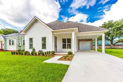 Houma Single Family Home For Sale: 883 Verret Street