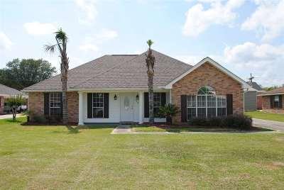 Thibodaux Single Family Home For Sale: 702 Oak Lane