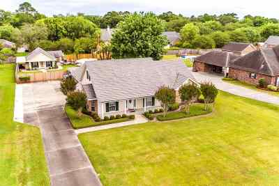 Thibodaux Single Family Home For Sale: 451 Percy Brown Road