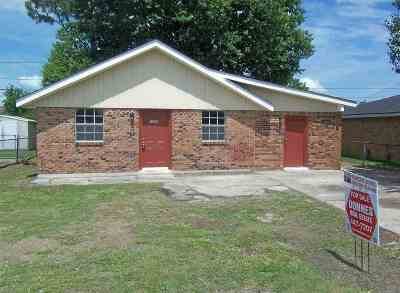 Thibodaux Single Family Home For Sale: 1332 South Barbier Avenue