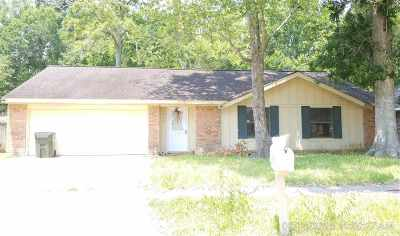 Houma Single Family Home For Sale: 138 Tutty Loop