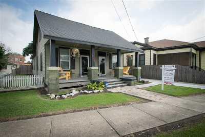 Morgan City Single Family Home For Sale: 405 Railroad Avenue