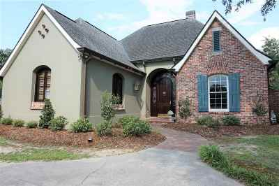 Thibodaux Single Family Home Under Contract: 202 Banker Drive