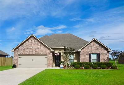 Thibodaux Single Family Home Under Contract: 122 Cottage Way