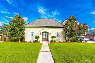 Thibodaux Single Family Home For Sale: 821 Rosedown Drive