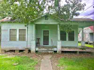 Napoleonville Single Family Home For Sale: 5050 Highway 308