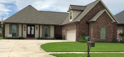 Houma Single Family Home For Sale: 3405 Brookwood Drive