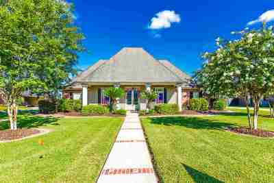 Thibodaux Single Family Home For Sale: 104 Estates Drive