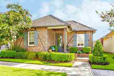Thibodaux Single Family Home For Sale: 113 Rue Bergere