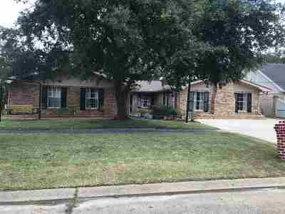 Morgan City Single Family Home For Sale: 1209 Fig Street